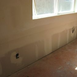 Drywall repair, Kentucky St.