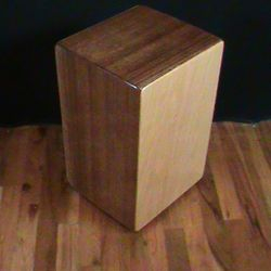 Solid Mahogany Traditional String Cajon