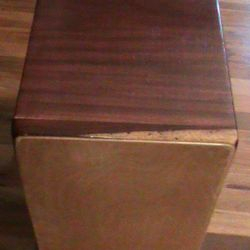 String Cajon with Purpleheart and Padouk Body