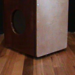 Purpleheart and Padouk String Cajon