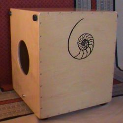 The Mingo Lewis Signature Snare Cajon