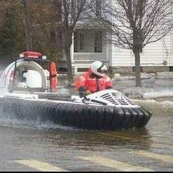 Hovercraft rescue throwback