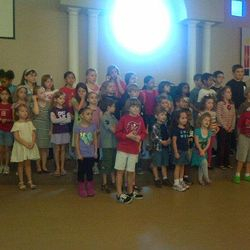 Children lead worship on the 5th Sundays!
