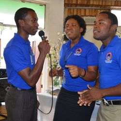 Praise and Worship team from Jamaica West Indies raising donations for their education