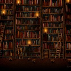 A hobbit's library