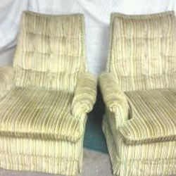 2 Antique Swivel Rocker Chairs $80 For Set