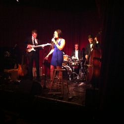First Class Artist, Dana, blazing the stage @ Hotel Cafe in Hollywood, CA