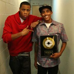 "King Bry (Right) wins Best Music Video Award at The ""818 Artist Music"" Awards"