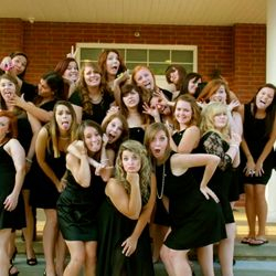 Class & sass during fall recruitment 2013