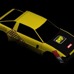 "new car in development the ""URANUS GT-S"" a wider brother of the AE86. This car has tuning parts and paintjobs featuring the Yellow Cab Drift team Philippines. - September 12, 2012"