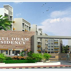 Gokul Dham Residency,Main Gate.