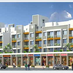 Gokul Dham Residency,Bhivpuri,Karjat. (Residential and Commercial complex)