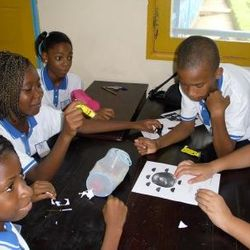As nossa aulas - Trabalho em grupos sobre as fases da Lua