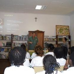 palestra na Biblioteca com o Cientista Bob Drewes