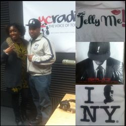 Producer & Songwriter Spud Brooklyn stopped by to promote his brand #jelly