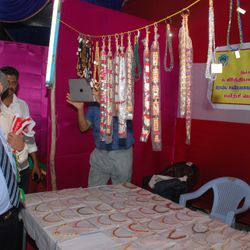 CMD IOB at IOB RSETI Stall at Thiruvaiyaru.
