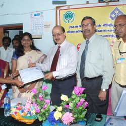 Distribution of certificate by GM IOB & CRM IOB