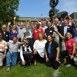 More Retired Teachers 2010 reunion