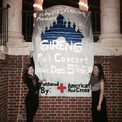 look at how pretty our banner was!