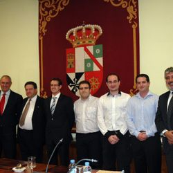 Recognition of the UCLM Social Council, Albacete 2011