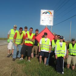 2013 Spring Adopt A Highway crew.