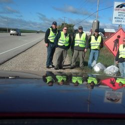 2013 Fall Adopt A Highway crew.