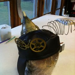 Inventor Hat made for Beauty and Beast.
