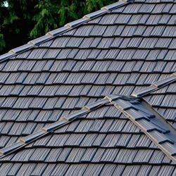 Metal Slate Shingle Roof