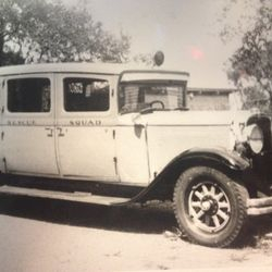 Our First Ambulance 1930 Nash