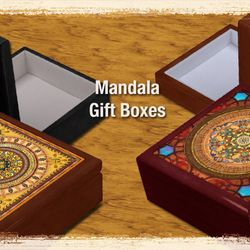 Mandala Gift Boxes.