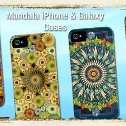 Mandala iPhone & Galaxy Cases