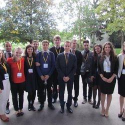 MUNC delegation at SIMUN 2014