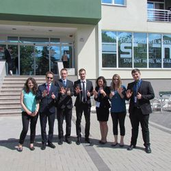 MUNSC delegation to MOSTIMUN 2014