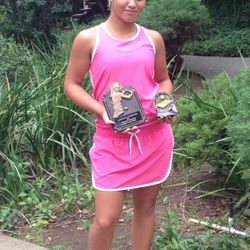 Tameka Samantha, June 23-27 2014, Saratoga Junior Open Girls 14s Singles Champion / Mix 16s Doubles Finalist.