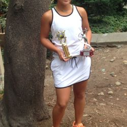Tameka Samantha, July 12-13 2014, Alameda High Junior Open Girls 14s Singles Champion / Girls 14s Doubles Finalist.