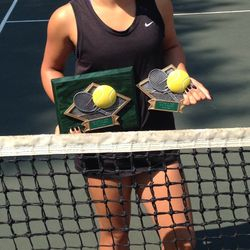 Tameka Samantha, January 4-12 2014, Cupertino Junior Open Girls 14s Singles & Doubles Champion.