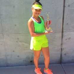 Tameka Samantha, June 30th-July 4th 2014, Sylvano Tennis Academy: 4th Of July Girls 16s Singles Champion.
