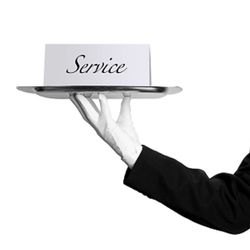 Butler image to indicate a fully managed service