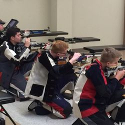The Rifle Team shoots at the CMP facility over summer break. Both Harrison and North Cobb Rifle teams havebegun the season undefeated so far out-shooting suck schools as McEachern & Jefferson County to name a few. Keep it up!