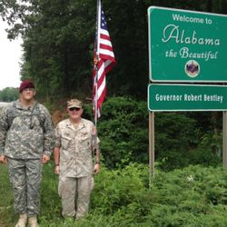 ENTERING ALABAMA