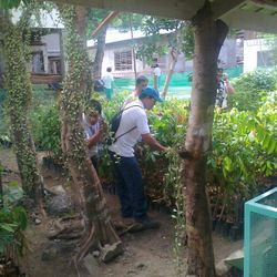 "Clean-up must start from our own ""home"" — at DENR Los Banos Chapter."