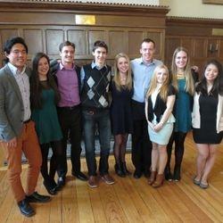 2014-2015 Rotaract Executive!  (James, Jenna, Ryan, Alex, Annie, Mitch, Elena, Cindy, Lisa, missing Paige)