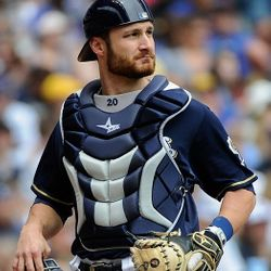 Jonathan Lucroy of the Milwaukee Brewers wears one!
