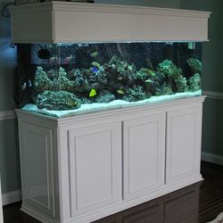180 Gallon Contemporary w/Acrylic tank. RJ'S Aquarium Stands