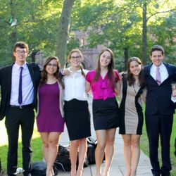 Some of the Debate Team