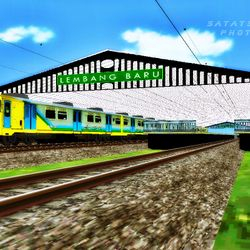 Indonesian DEMU in Fictional Lembang Routes