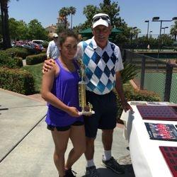 Leglers Roberts Junior Age Division Championships 2015 Girls U14s Winner