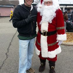 Santa, Spirit of Giving, Greenville