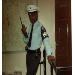 Dr. Cummings- U.S. Army Military Police.