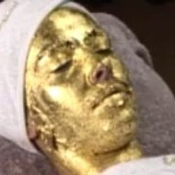 Gold Face Treatment